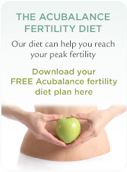 Download the Acubalance Free Fertility Diet
